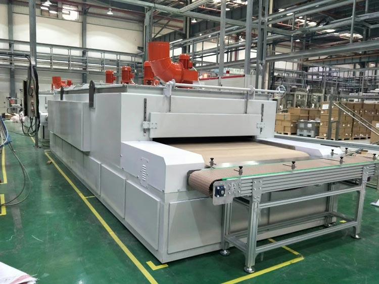 SL1800电加热网带固化炉